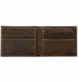 Portfel Carhartt Pebble Zip Bifold Wallet brown
