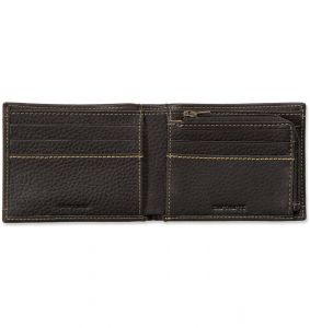 Portfel Carhartt Pebble Zip Bifold Wallet BLACK