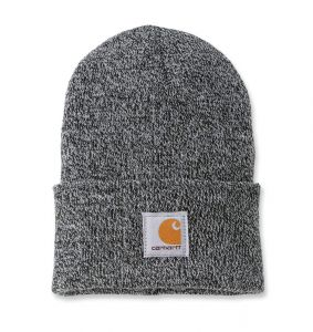 Czapka Carhartt Acrylic Watch Hat black-white