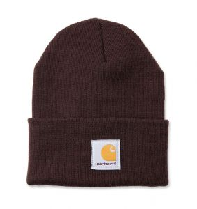 Czapka Carhartt Acrylic Watch Hat dark brown