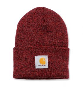 Czapka Carhartt Acrylic Watch Hat red navy