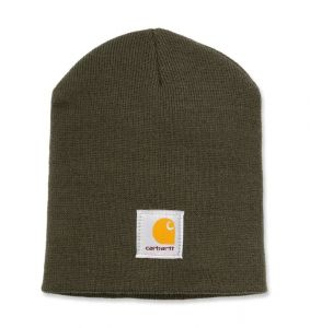Czapka Carhartt Acrylic Knit Hat dark green