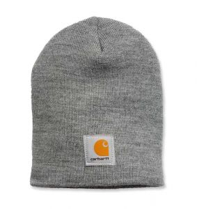 Czapka Carhartt Acrylic Knit Hat heather grey