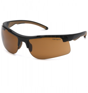 Okulary ochronne Carhartt Rockwood Safety Glasses bronze