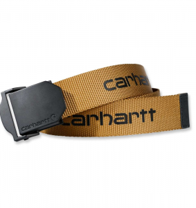 Pasek Carhartt Webbing Belt brown