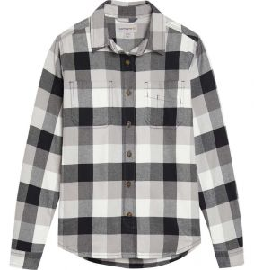 Koszula Carhartt Hamilton Plaid Flannel Shirt black