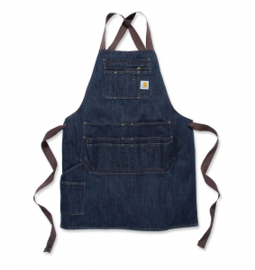Fartuch Carhartt Denim Apron dark blue ridge
