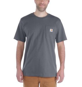 Koszulka Carhartt Workwear Pocket S/S Relaxed Fit K87 T-Shirt charcoal