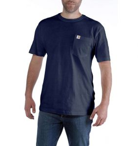 Koszulka Carhartt Maddock Pocket Short Sleeve T-Shirt navy
