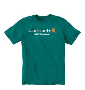 Koszulka Carhartt Core Logo T-Shirt alpine heather