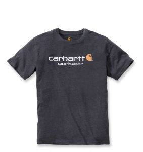 Koszulka Carhartt Core Logo T-Shirt carbon heather