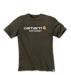 Koszulka Carhartt Core Logo T-Shirt moss heather
