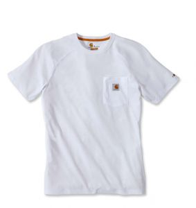 Koszulka Carhartt Force Cotton Short Sleeve T-Shirt white