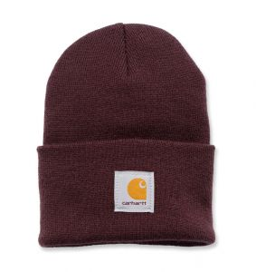 Czapka Carhartt Acrylic Watch Hat deep wine
