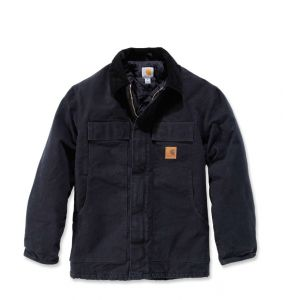 Kurtka Carhartt Sandstone Traditional Coat BLACK