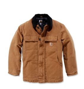 Kurtka Carhartt Sandstone Traditional Coat CARHARTT® BROWN