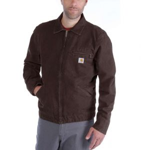 Kurtka Carhartt Lightweight Detroit Jacket DARK BROWN