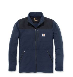 Bluza Carhartt Fallon Full-Zip Sweater Flece NAVY