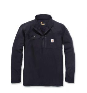 Bluza Carhartt Fallon Half-Zip Sweater Flece BLACK