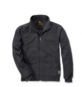 Bluza Carhartt Midweight Mock Neck Zip Front Sweatshirt CARBON HEATHER