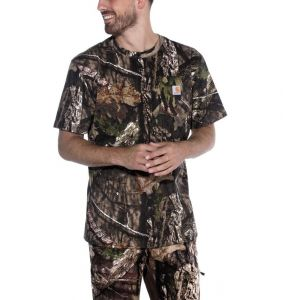 Koszulka Carhartt Workwear Camo Short Sleeve T-Shirt MOSSY OAK BREAK-UP COUNTRY
