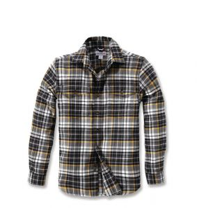 Koszula Carhartt Trumbull Slim Fit Flannel Shirt SHADOW
