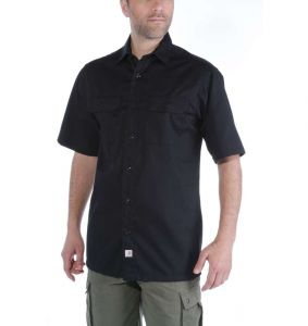Koszula Carhartt Twill Work Shirt S/S BLACK