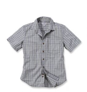Koszula Carhartt Slim Fit Shirt S/S VAPOR GREY