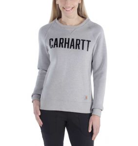 Bluza Carhartt Clarksburg Graphic Crewneck ASPHALT HEATHER