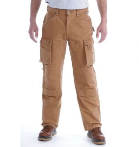 Spodnie Carhartt Duck Multi Pocket Tech Pant CARHARTT® BROWN