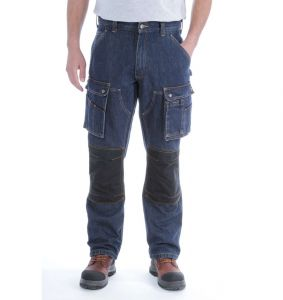 Spodnie Carhartt Denim Multi Pocket Tech Pant RINSED INDIGO