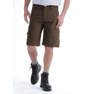 Spodenki Carhartt Ripstop Cargo Work Short DARK COFFEE