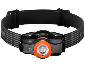 Latarka czołowa LEDLENSER MH5 black orange