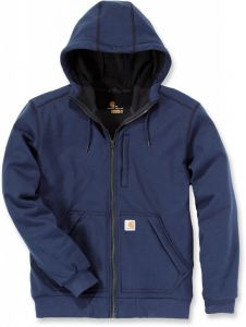 Bluza Carhartt Wind Fighter Hooded Sweatshirt granatowa