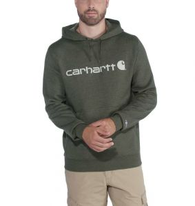 Bluza Carhartt Force® Delmont Graphic Hooded Sweatshirt MOSS HEATHER