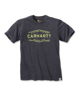 Koszulka Carhartt Made by Hand Graphic T-Shirt S/S CARBON HEATHER