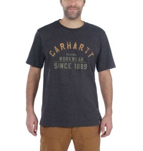 Koszulka Carhartt Workwear Graphic Short Sleeve T-Shirt CARBON HEATHER