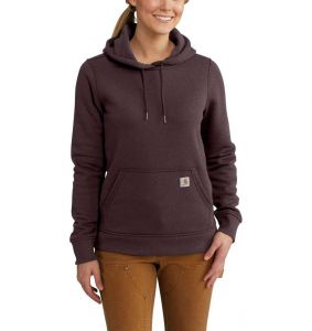 Bluza Carhartt Clarksburg Pullover Sweatshirt FUDGE HEATHER