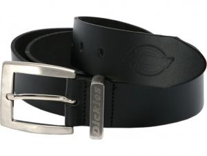 Pasek Dickies Leather Belt Black
