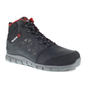 Buty Reebok Excel Light Leather Mid WP S3 BLACK