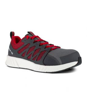 Buty Reebok Fusion FlexWeave™ Work S1P ESD GREY/RED/WHITE