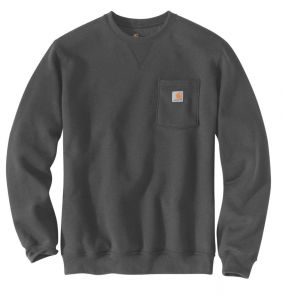 Bluza Carhartt Crewneck Pocket Sweatshirt CARBON HEATHER