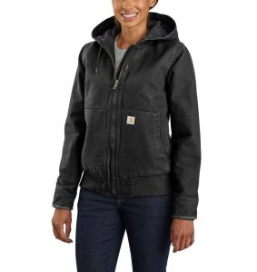 Kurtka Carhartt Washed Duck Active Jacket BLACK