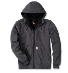 Bluza Carhartt Wind Fighter Hooded Sweatshirt ciemno szara