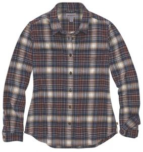 Koszula Carhartt Hamilton Plaid Flannel Shirt twilight