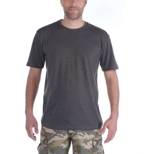 Koszulka Carhartt Maddock Short Sleeve T-Shirt carbon heather