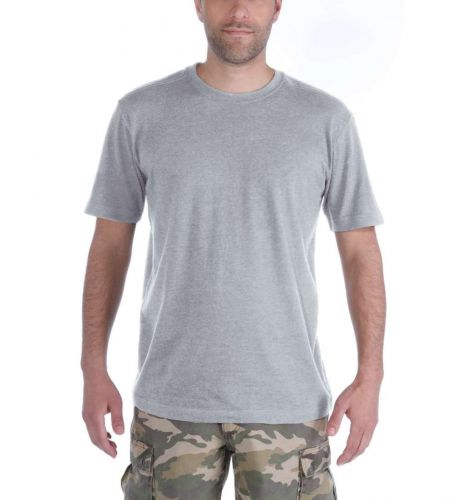 Koszulka Carhartt Maddock Short Sleeve T-Shirt heather grey