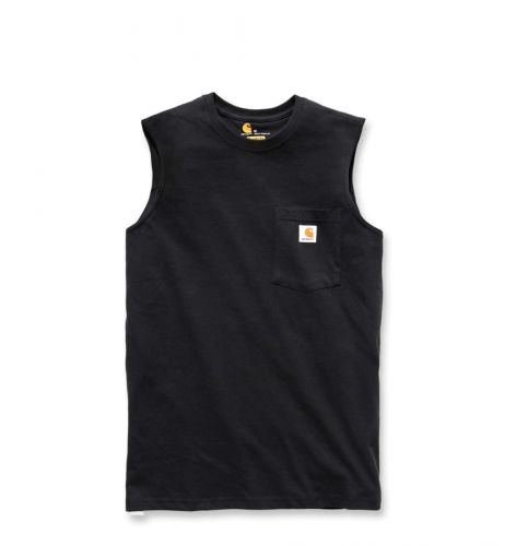 Koszulka Carhartt Workwear Pocket Sleeveless T-Shirt black