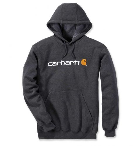 Bluza Carhartt Signature Logo Midweight Sweatshirt CARBON HEATHER