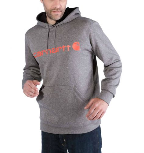 Bluza Carhartt Force Extremes® Signature Graphic Hooded Sweatshirt GRANITE HEATHER